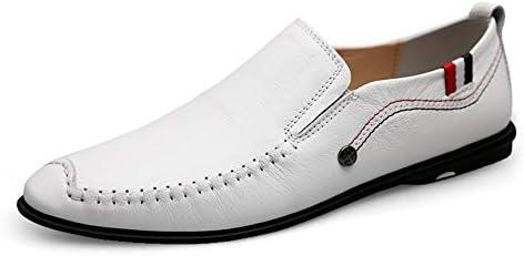 運転クラシック快適な男性カジュアルシューズローファー男性の靴品質分割革の靴男性フラットスーパーソフトユニークなステッチキャップのつま先ラウンドつま先通気性