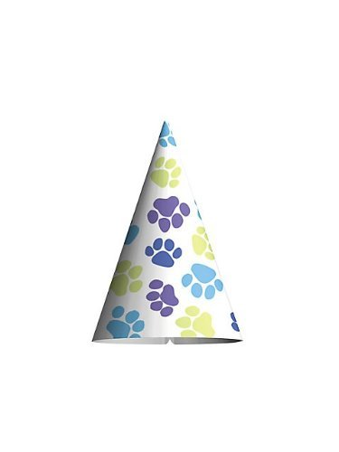 Puppy Party - Cone Hats, (8 ct)