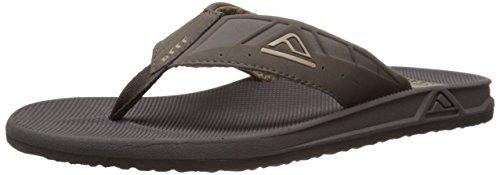 Reef Rubber Sole Sandals (Reef Men's Phantom II Flip Flop, Brown, 9 M)