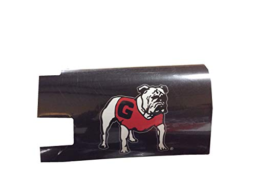 R and R Imports NCAA Georgia Standing Bulldog Magnetic Mailbox Cover-Black (Georgia Bulldog Mailbox Cover)