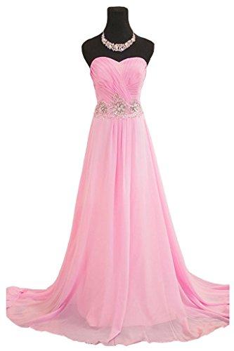 Kleid Damen Rosa Drasawee Pink Bandeau S0qw0vP