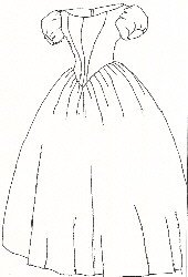 Guide to Victorian Civil War Costumes on a Budget 1860s Evening Dress Pattern (Large- 18-22) $11.95 AT vintagedancer.com