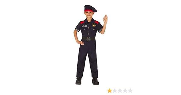 Guirca Disfraz de Mosso dEsquadra para niños: Amazon.es: Juguetes ...