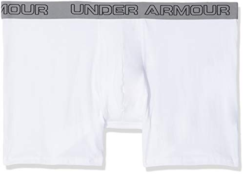 Homme white White Caleçon Under Armour Charged Cotton 104 white vqWfwHa1wI