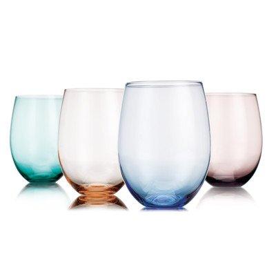 Tuscana 4 Piece 14 Oz. Stemless Glass Set (Set of 4)