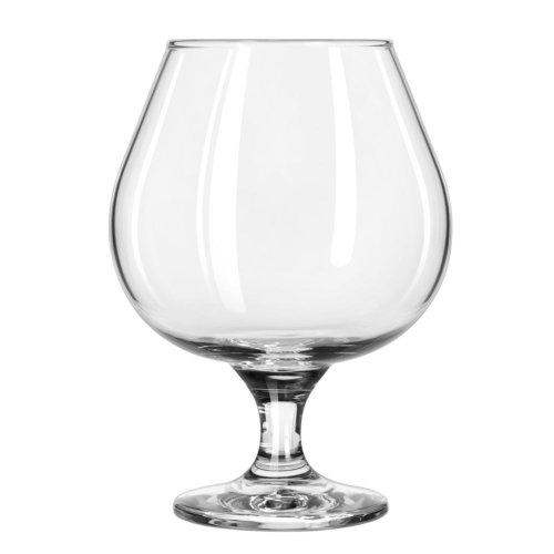 Libbey Glassware 3709 Embassy Brandy Glass, 22 oz. (Pack of 12)