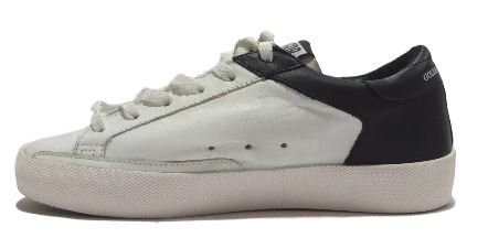 golden goose , Damen Sneaker weiß weiß/schwarz