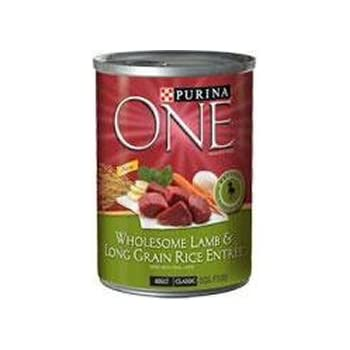 Purina One Wholesome Lamb and Long Grain Rice Entree