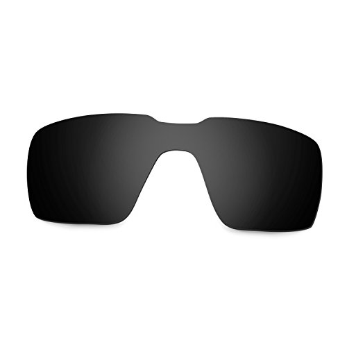 25ac507a582eb 85% OFF Hkuco Plus Mens Replacement Lenses For Oakley Probation Sunglasses  Black Polarized