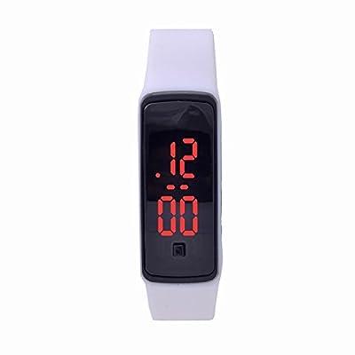 WOPS® Fashion Design Ultra Thin Sports Silicone Digital Unisex LED Sports Bracelet Wrist Watch