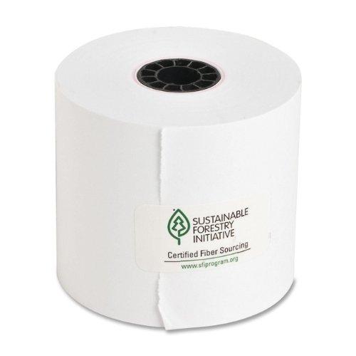 (Sparco Adding Machine Rolls, 2-1/4-Inch x 126-Feet, 100 per Box, White (SPR01121))