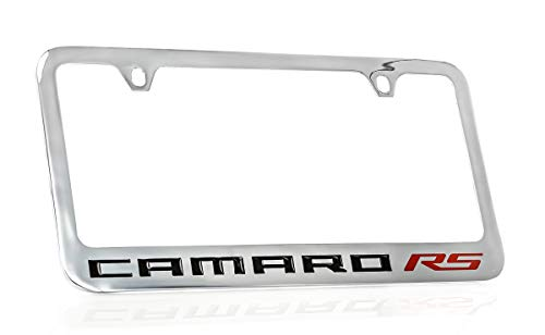 Chevrolet Camaro RS Chrome Plated License Plate Frame Holder