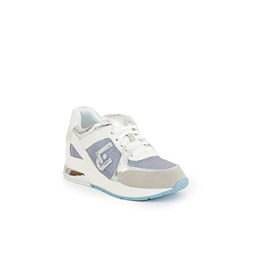 Argent Femme T2044 Jo Sneakers B18021 Liu Blanc 7xYaIn