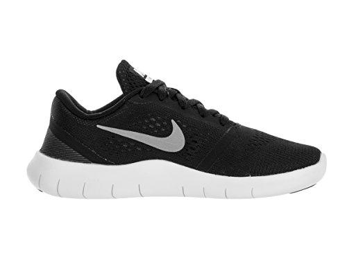 Nike Boy's Free RN (PS) Pre-School Shoe Black/Metallic Silver/Anthracite Size 12 Kids US by Nike (Image #5)