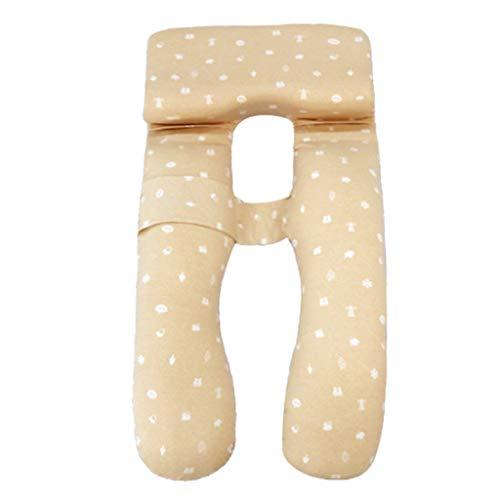 Fangfang Support Travel Pillow Soutien en Forme de U Femmes enceintes dos Taille Jambes Jambes Femmes oreiller amovible…