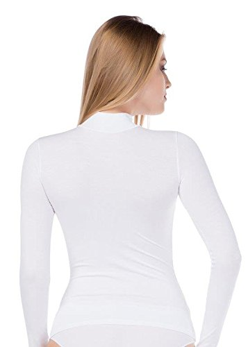 stylenmore - Camiseta de manga larga - para mujer Weiß