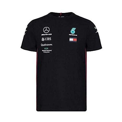 0d44f7a65baf4 Amazon.com  Mercedes-AMG Petronas Motorsport 2019 F1 Team T-Shirt ...