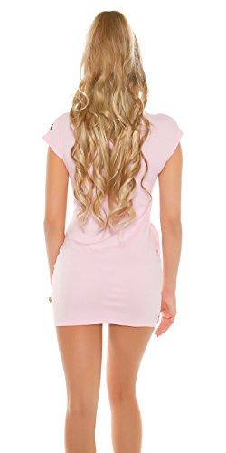 Instyle - Vestido - para mujer Rosa