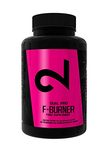 🥇 Dual Pro F-Burner   Fat-Burner for Men and Women   100 Vegan Caps   Weight Loss Without Sports with Keto Diet Pills  Natural Appetite Suppressant  Strong Natural Dietary Supplement  Without Additives
