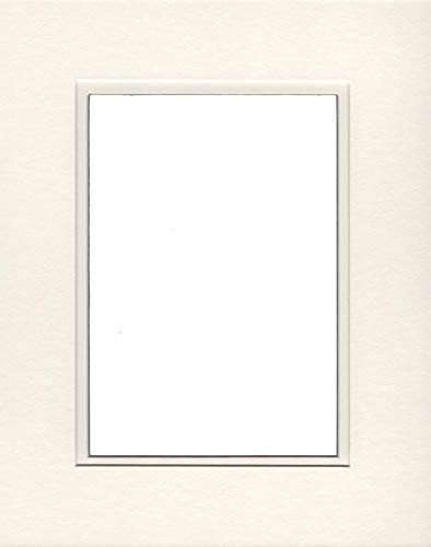- Pack of (2) 24x36 Double Acid Free White Core Picture Mats Cut for 20x30 Pictures in Cream and Cream