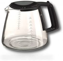 Braun – Jarra kfk12fl 12 tazas, negro para cafetera Braun: Amazon ...