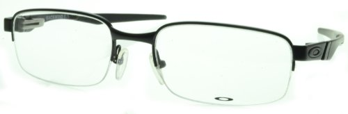 OAKLEY OX3163-0354 Eyeglasses Backwind 0.5 Satin Black - Eyeglass Oakley Frames Mens