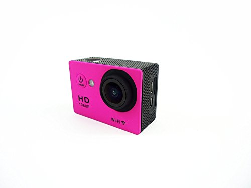 Thor WIFI SJ4000 Outdoor Sports DVR Cam Action DV Camera Car Recorder 1080P 1.5 Inch 12MP 140 degree Full HD Wide-angle Micro USB 2.0 (Pink)