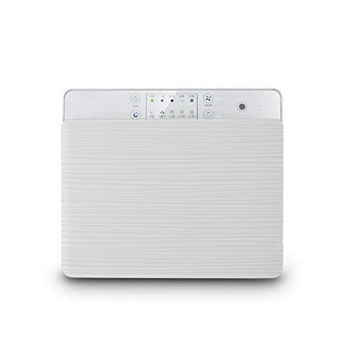 (WENYC Wall-Mounted Air Purifier, Remote Control, Negative Ion HEPA in Addition to PM2.5 De-Smoke)