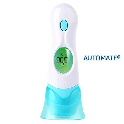 4 en 1 oído y frente termómetro Dual Mode, médico Digital termómetro para bebé y