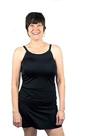 Mastectomy Swim Tankini Top with Built-in Breast