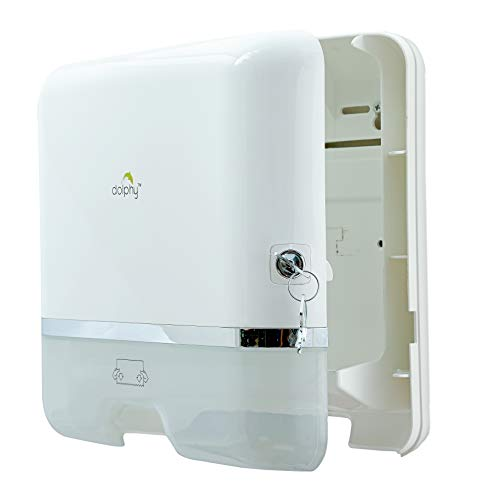 Dolphy Multifold Mini Hand Towel Paper Dispenser White 5