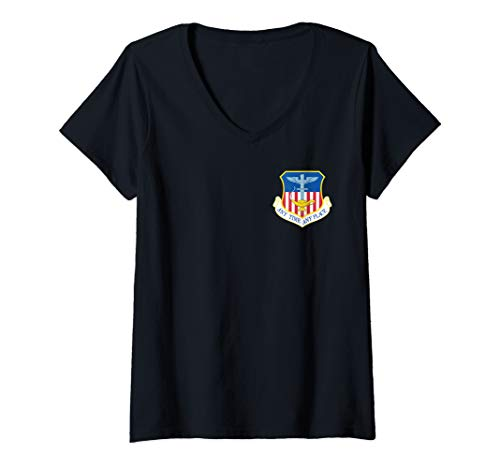 Womens 1st Special Operations Wing (1st SOW) V-Neck T-Shirt