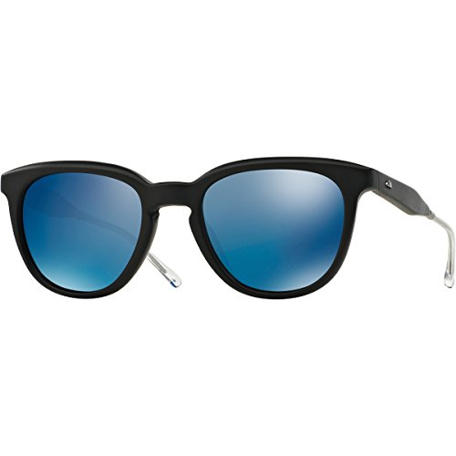 Oliver Peoples West Beech Polarized Sunglasses, Matte Black/Maliblu, - Oliver Peoples West