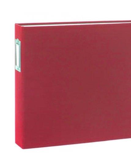 12 X 12 D-ring - Cloth Album - Cherry - Cloth Album