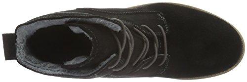 Tamaris 25276 - Botas de cuero para mujer Negro (BLACK 001)