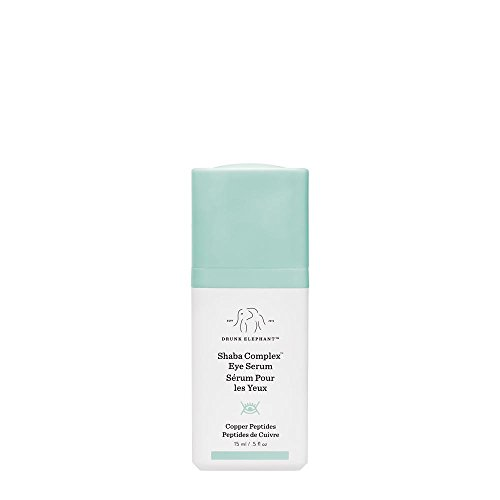 Drunk Elephant Shaba Complex Eye Serum - Anti Aging Wrinkle Serum for Dark Circles (15 ml / .5 fl oz)