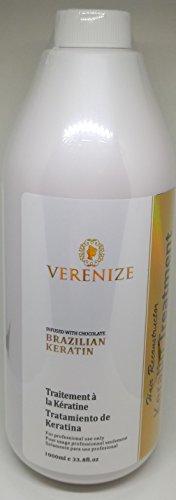 Brazilian Keratin Treatment, Hair Straightener, Brazilian Blowout. (Purifying Shampoo & Keratin Treatment x 1000 ml) by Verenize