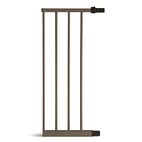 Munchkin Decorative Metal Baby Gate Extension Compatible with Gate, MKSA0658-011, Bronze, 11