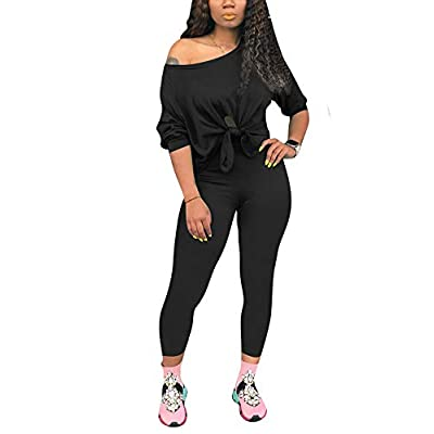 2 Piece Sets for Women - Sexy Long Sleeve Crop Tops + Skinny Shorts Two Piece Outfits at Women's Clothing store