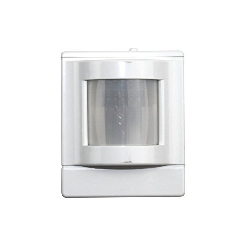 Sensor Switch WV PDT 16 Corner Mount Low Voltage, Dual Technology (PDT) Wide View Sensor, White ()