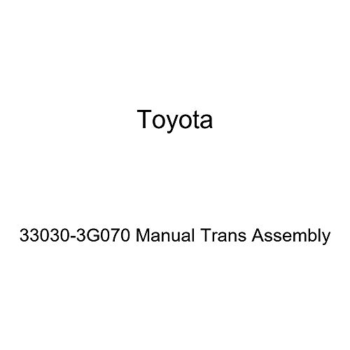 Toyota 33030-3G070 Manual Trans Assembly