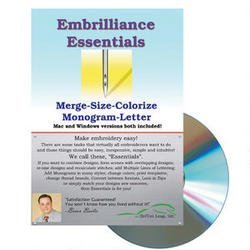Embrilliance Essentials Embroidery Machine Software by Embrilliance Essentials Embroidery Software