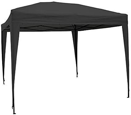 AirWave 5060176862739 - Cenador para Patio, Color Negro
