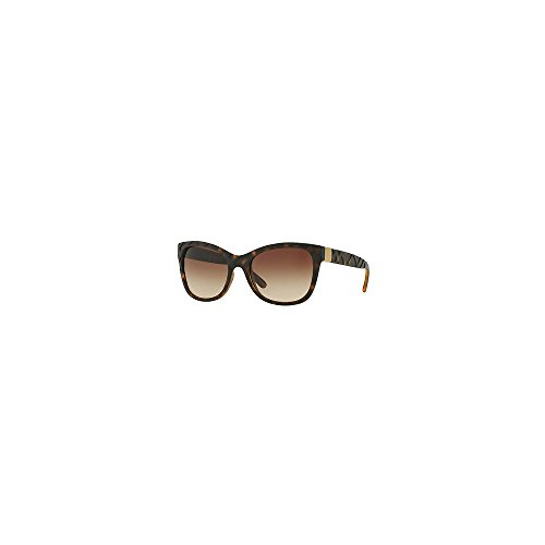 Burberry BE4219 357813 Matte / Dark Havana BE4219 Wayfarer Sunglasses Lens - Burberry Wayfarer Sunglasses