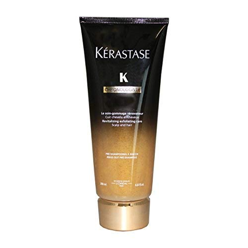 Kerastase Chronologiste Revitalizing Exfoliating Care Scalp and Hair Pre-Shampoo, 6.8 Ounce
