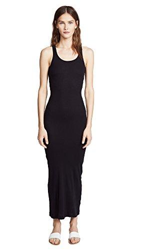 - Splendid Women's Ribbed Maxi Dress, Black, Small