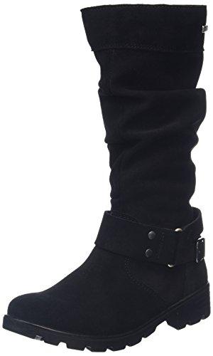 Boots Noir Girls' schwarz 091 Riana Long Ricosta Oq60q1
