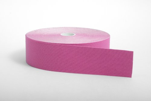StrengthTape Kinesiology Tape Uncut Roll- Pink 35M by StrengthTape