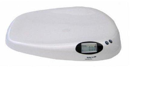 Adam Equipment Baby Infant Scale 44x0.01 lb / 20kg x 10g,AC Adapter and Battery