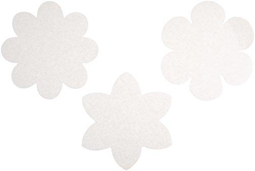 Roylco Color Diffusing Paper, Flowers Shape, 9